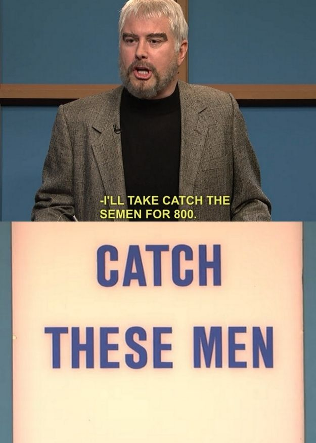 "10 Iconic Misreadings Of SNL ""Celebrity Jeopardy"" Categories - BuzzFeed Mobile"