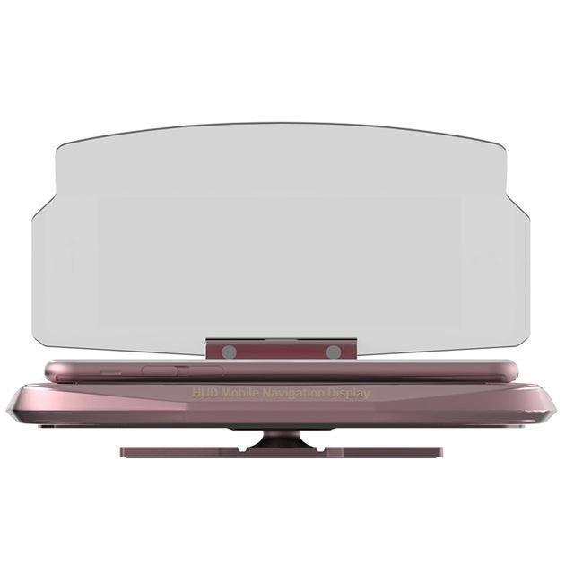 Smartphone Projector Heads Up Navigation Display #SmartphoneProjector