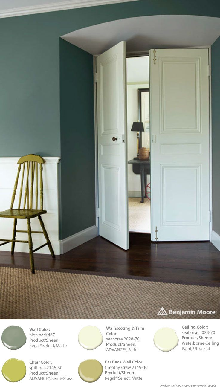 12 best orcas paint colors images on pinterest benjamin for Best neutral green paint