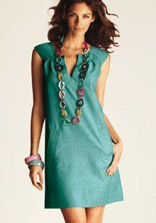 Широкие бедра – расширенное платье