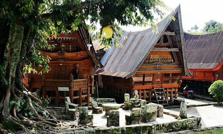 The Old Court, Samosir Island, North Sumatra, Indonesia