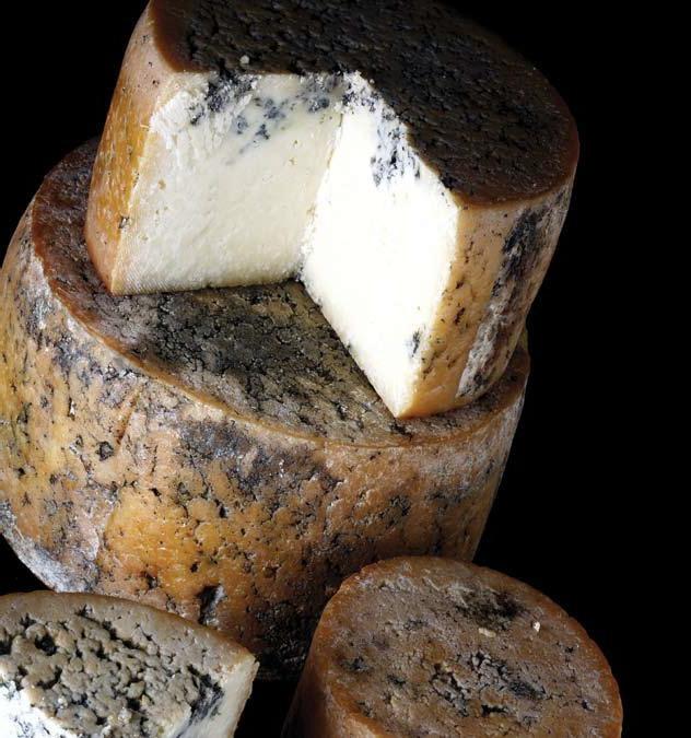 Sabores de Asturias. Asturias, tierra de quesos. En la imagen el preciado queso Gamonéu (© Consejería de Medio Rural y Pesca. Principado de Asturias) www.asturias.es www.copaeastur.org http://revista.destinosur.com/contenidos57.php#astur