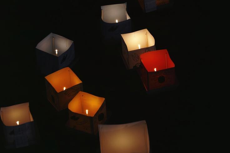 "Sendai,miyagi,Japan 500px / Photo ""Lantern Floating"" by keiichi ebina  ものすごく色が悪くなってるのが許せんぞPinterest…(笑)"