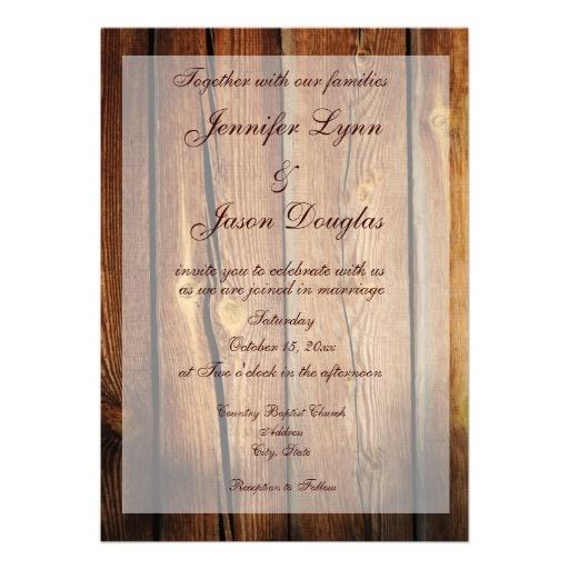 Country Barn Wedding Invitations