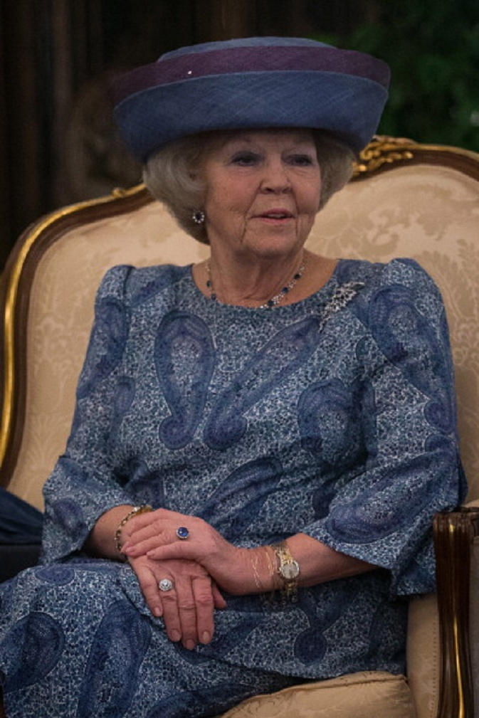 Queen Beatrix of the Netherlands is on a three day state visit to Singapore