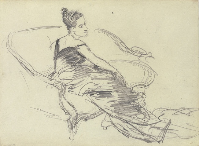 John Singer Sargent, Madame X: John Singer Sargent, Sketch, Drawings, Singers, Illustration, Fine Art, Mrs. Stone, Painting