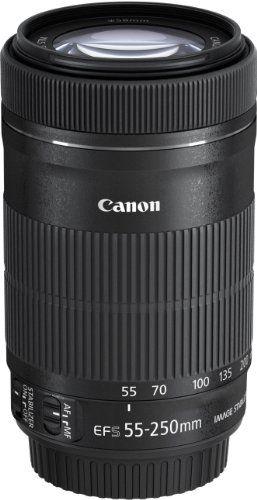 Canon EF-S 55-250 mm, f/4-5.6 IS STM- Teleobjetivo, Negro B00EP71ETU - http://www.comprartabletas.es/canon-ef-s-55-250-mm-f4-5-6-is-stm-teleobjetivo-negro-b00ep71etu.html