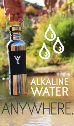 Discover the bottle that creates living alkaline water on the go. Click to learn more.