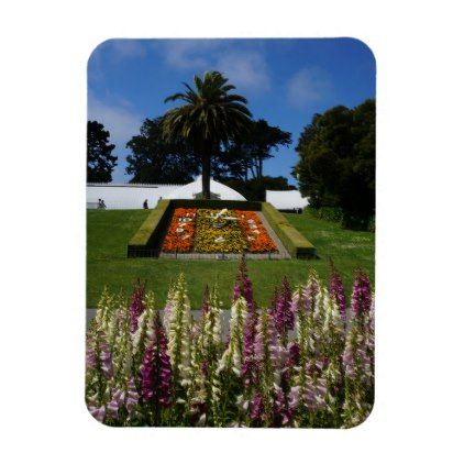 San Francisco Floral Clock Magnet  $5.95  by EverydayLifeSF  - cyo diy customize personalize unique