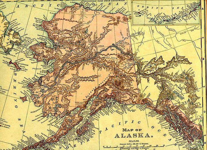 Best Alaska Maps Images On Pinterest Maps Alaska And Alaska - Alaska maps