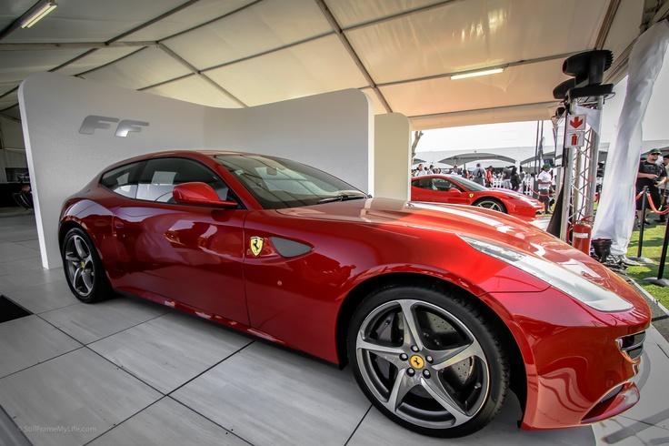 Ferrari FF at the Durban Top Gear Festival 2012