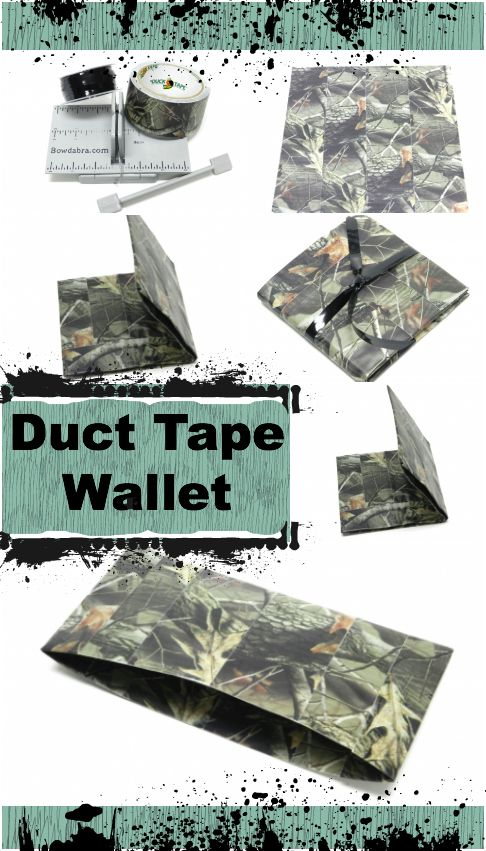 father's day duct tape wallet