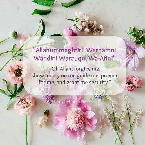 Dua. http://www.islamic-web.com/category/islam/