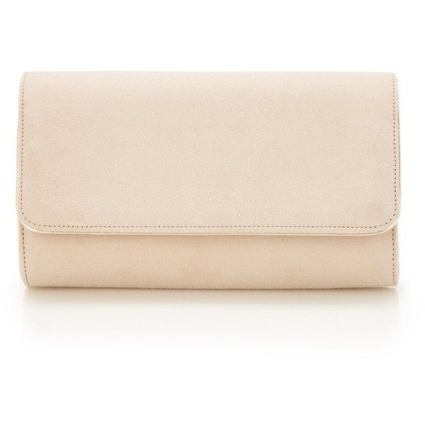Natasha Blush Gold ($450) ❤ liked on Polyvore featuring bags, handbags, clutches, gold clutches, pink handbags, nude purses, gold purse and pink clutches