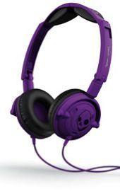 Skullcandy Lowrider Athletic Purple W/Mic (BN)