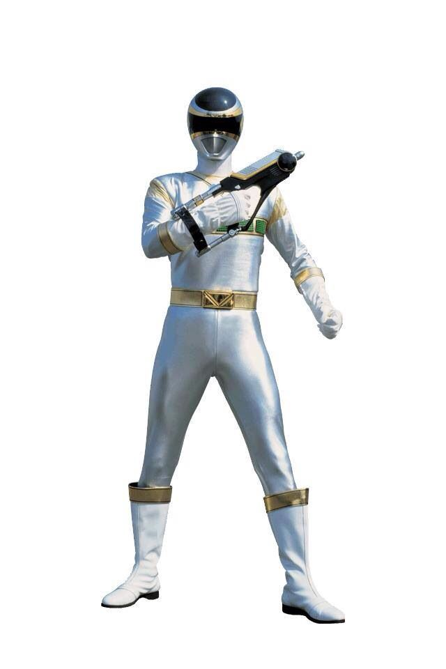 Power Rangers In Space - Silver Ranger