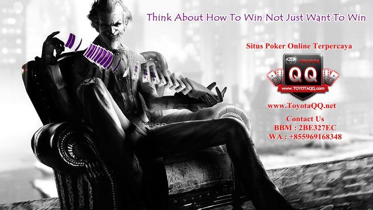 WWW.TOYOTAQQ.NET AGEN JUDI ONLINE TERBAIK DAN TERPERCAYA   Toyotaqq judi poker terbaik dan terpercaya di Indonesia hadir dengan 7 jenis game di dalam sehingga para member dapat memilih game yang ingin dimainkan. Dengan minimal deposit Rp 20.000,- dan withdraw Rp 20.000,- Info Lebih Lanjut Bisa Hub kami Melalui pin bbm : 2BE327EC
