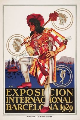 #Barcelona 1929 Expo Vintage Style