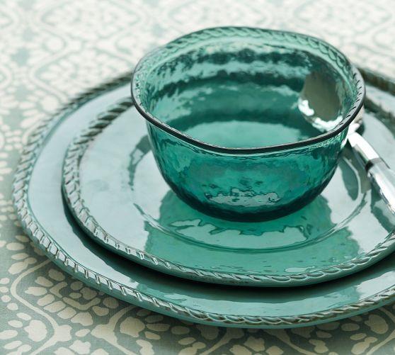 Outdoor Dishes Melamine Melamine Dinnerware Set 12 Pcs