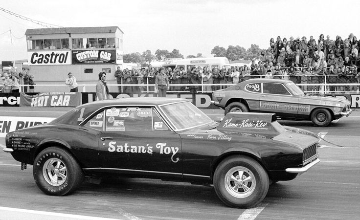 Bob Johnson Chevrolet >> Vintage Drag Racing - Pro Stock - Satan's Toy | Drag cars ...