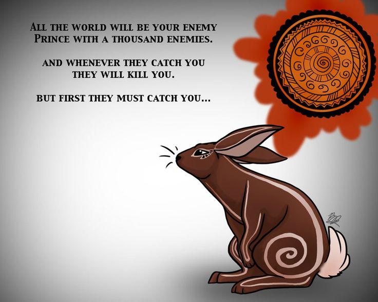 El-Ahrairah - Prince of Rabbits by Arianwen44 on DeviantArt