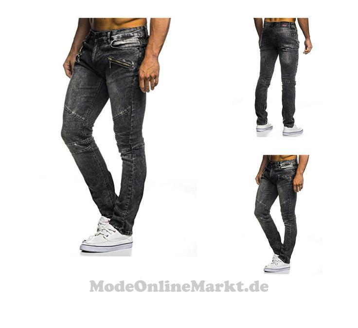 | #LEIF #NELSON #Herren #Hose #Jeans #Jeanshose #Freizeithose #Denim #LN273D; #W29L32, #Anthrazit