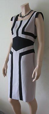 Color block short sleeve dress, office style $47 via @Shopseen