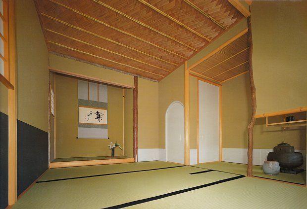 Kyoto Kitayama Sugi Cedar Sukiya Architecture Tea House Interior