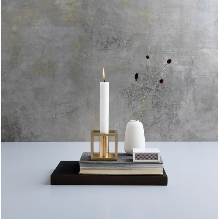Kubus 1 candleholder by By Lassen