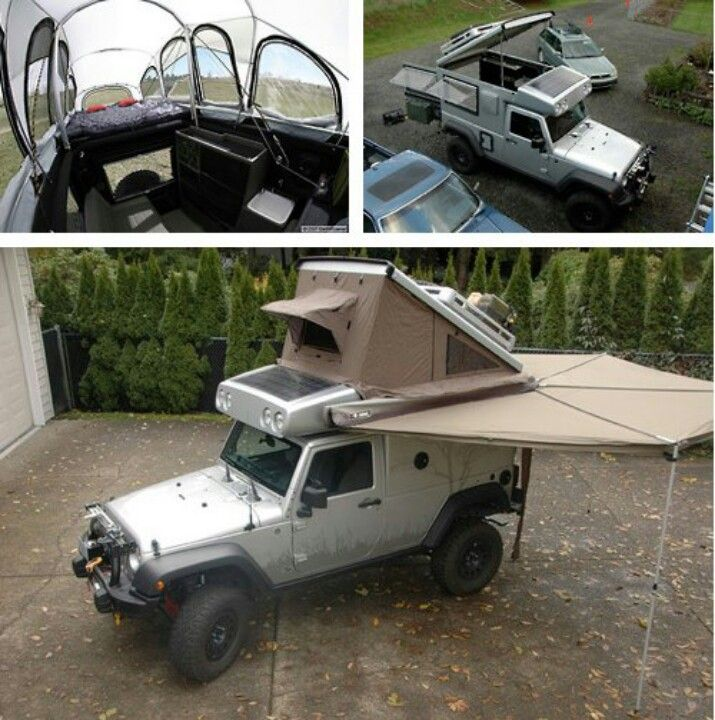 Jeep Camper Outdoors Camping Gear Survival Gear