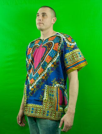 Traditional African Dashit Shirt by PBTrends on Etsy