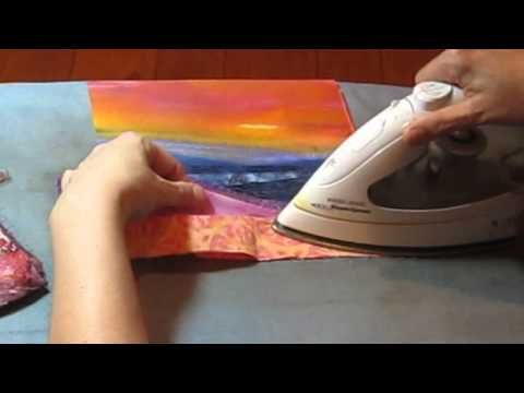 Landscape Quilt - Part 1 - Preparing to Sew - YouTube