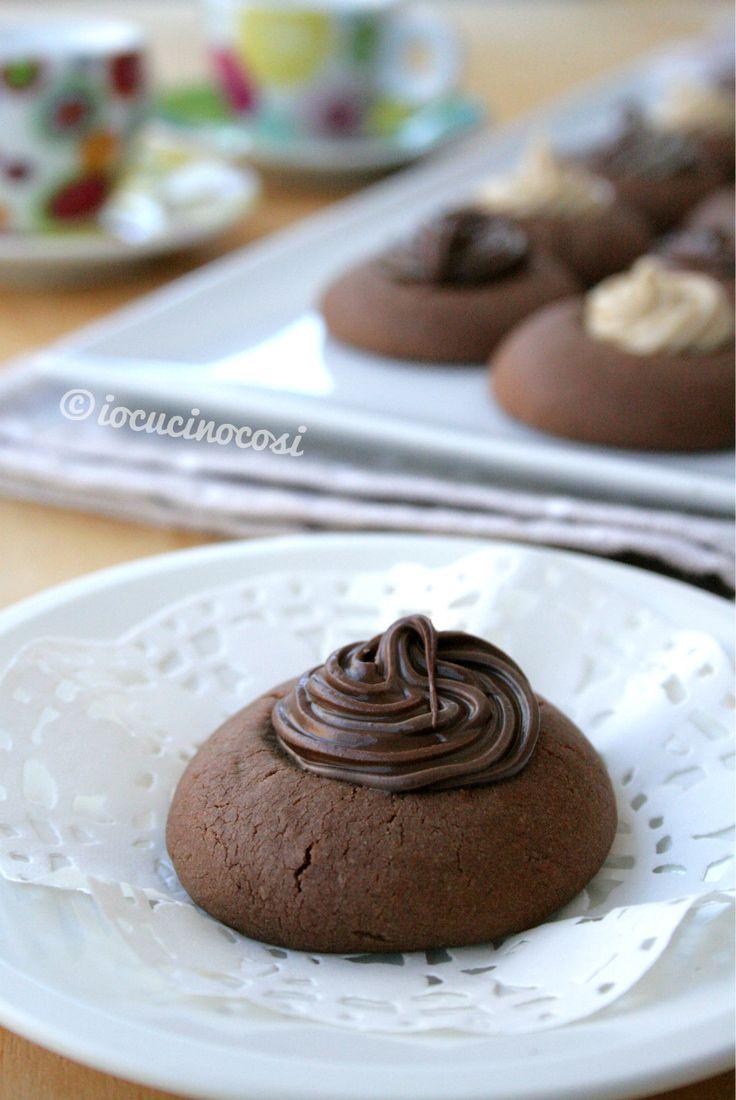 Ricetta Nutellotti - Biscotti alla nutella farciti