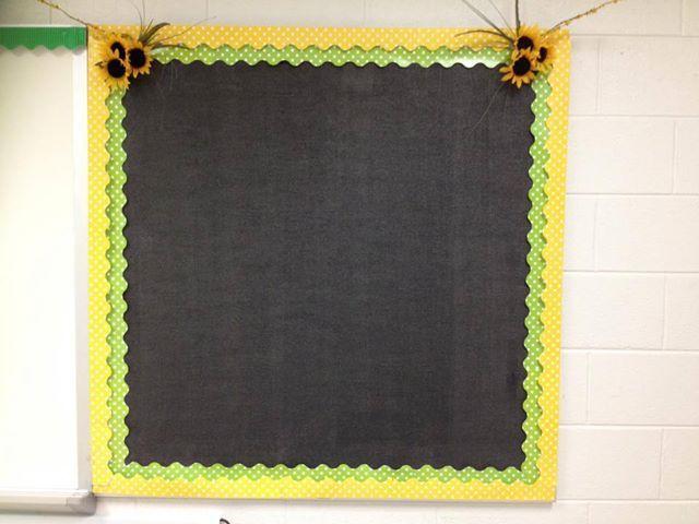 black bulletin board