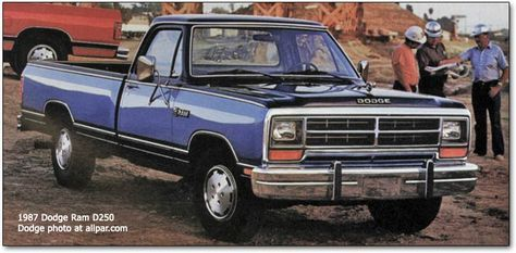 1985 dodge ram   History of the Dodge Pickups and A-Series Dodge Trucks, 1981-1993