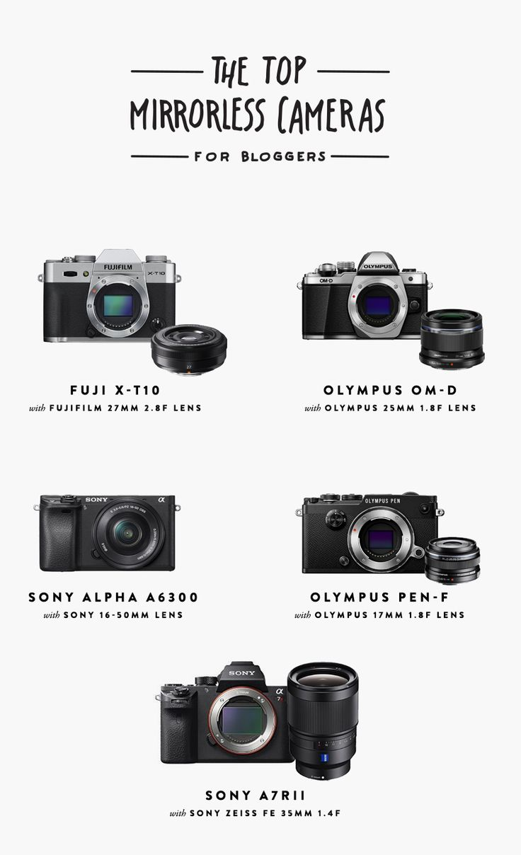 The Top Mirrorless Cameras for Bloggers  |  The Fresh Exchange