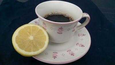 Altes Hausmittel gegen Kopfschmerzen-Natürlich-Kaffee mit Zitrone-Migräne- www.Melusines-Welt.blogspot.de
