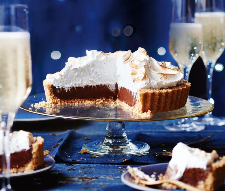 John Torode chocolate & coconut pie | ASDA Recipes