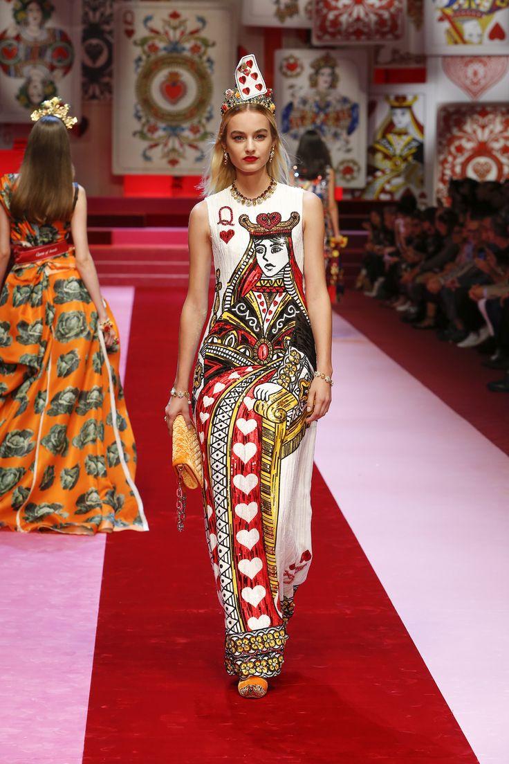 6d18dc9f071a Dolce Gabbana Fashion Show Summer 2018