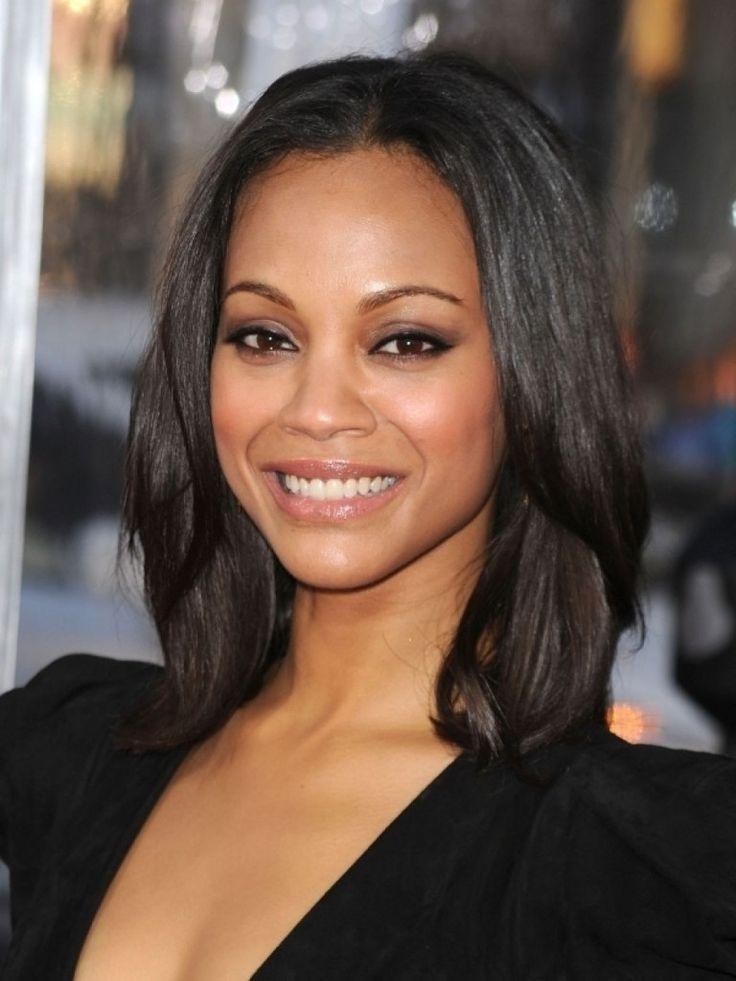 Medium Length Black Hair Cute Shoulder Length Hairstyles For A Dazzling Look