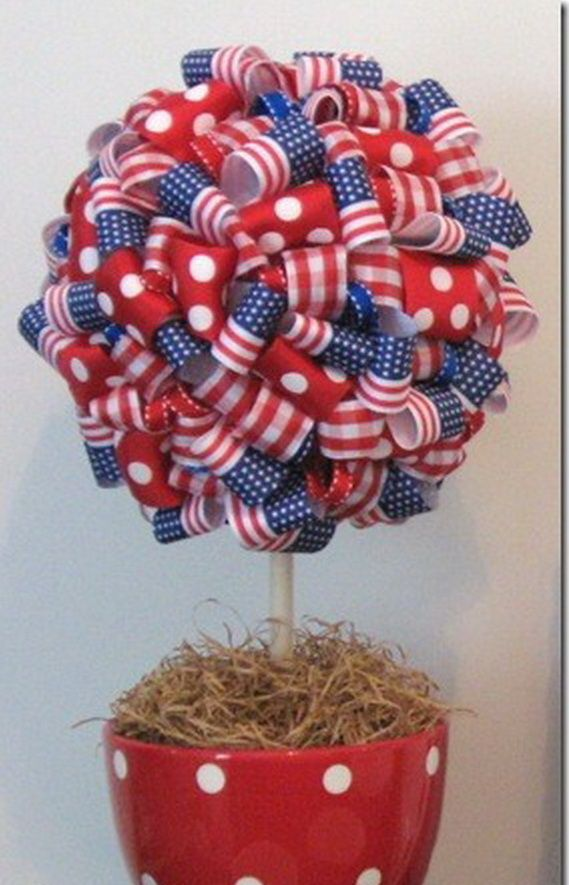 easy table decorations for 4th of july independence day _14
