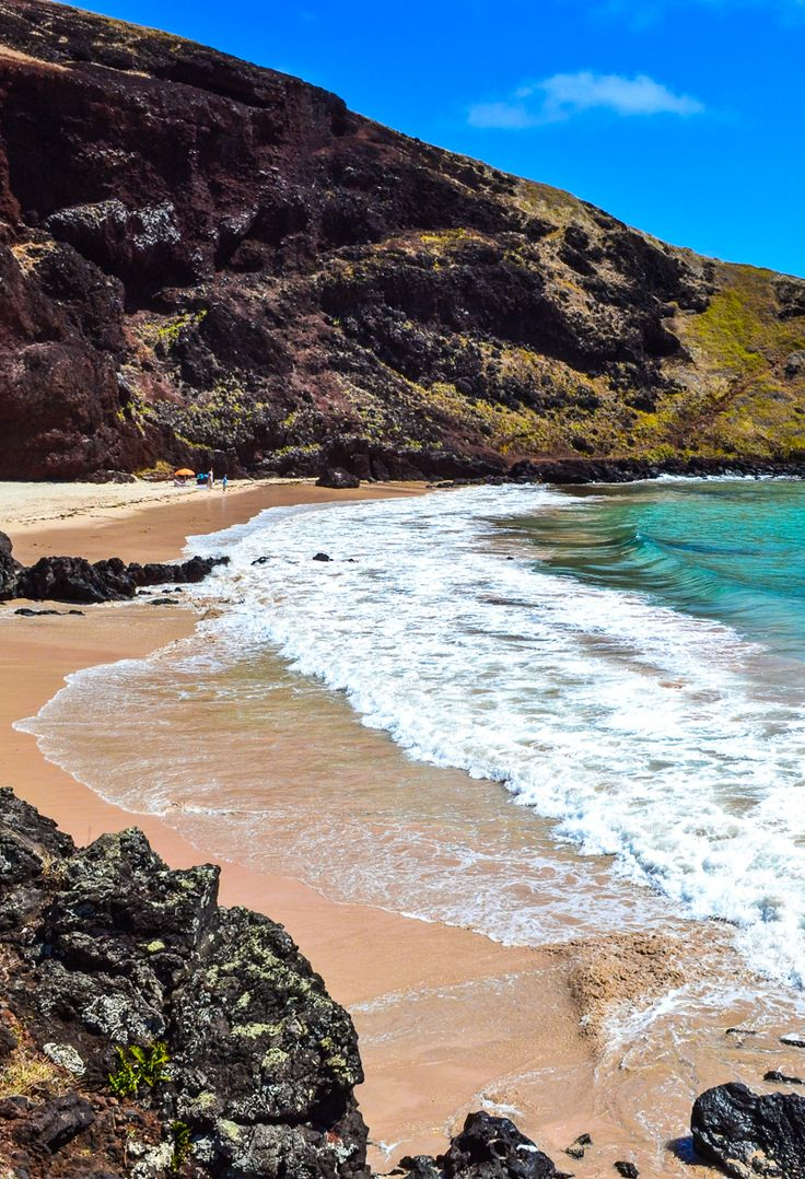 Ovahe Beach, Easter Island, Chile - While Easter Island is best known for its mysterious moai, the island also has a few perfect, secluded beaches