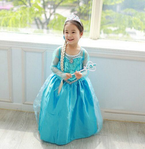 Frozen Dress Elsa Costume Disney Frozen Clothing By