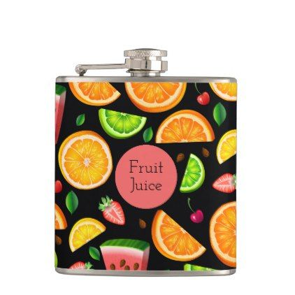 Fruit Fancy Hip Flask - fancy gifts cool gift ideas unique special diy customize