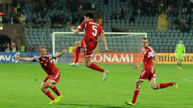 Serbia vs Armenia Highlights and Full Match Euro France 2016 Qualification