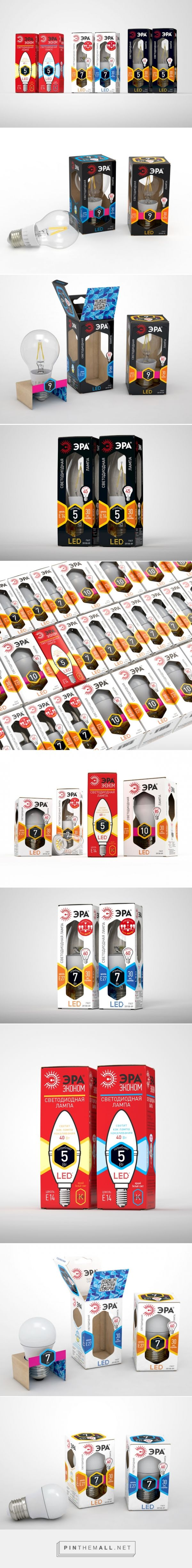 LED Bulbs ERA - Packaging of the World - Creative Package Design Gallery - http://www.packagingoftheworld.com/2016/02/led-bulbs-era.html
