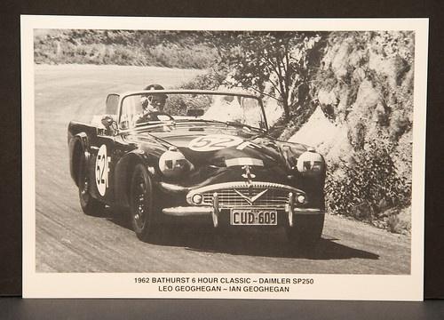 LEO & IAN GEOGHEGAN DAIMLER SP250 1962 BATHURST 6 HOUR CLASSIC