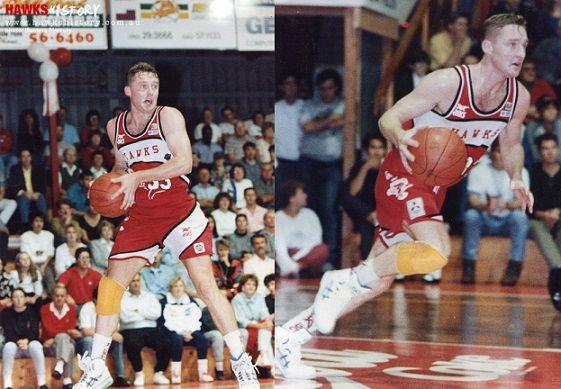 Former Hawk Greg Hubbard (1986-1992; 1994-1995)