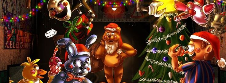 Five Nights at Freddy's 2 Merry Christmas! | Five Nights At ...