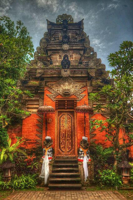 Ubud Palace in Bali, Indonesia